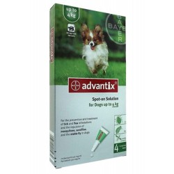 Advantix Desparasitante 4Kg